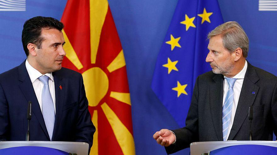 خواست مقدونیه در جهت الحاق به ناتو و اتحادیه اروپایی