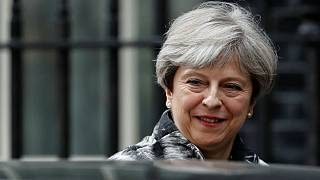 Theresa May sob pressão