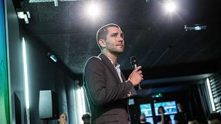 Chris Cox, Chief Product Officer de Facebook Visits Ecole 42 in PAris