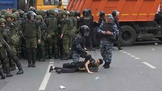 Miles de detenidos en Rusia en las protestas antigubernamentales