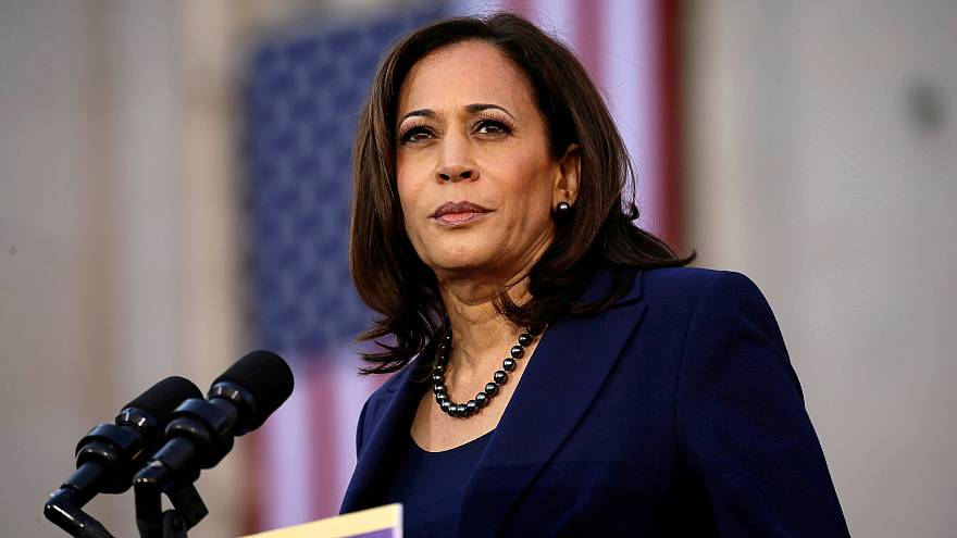 Image: Sen. Kamala Harris launches her campaign for president in Oakland, C