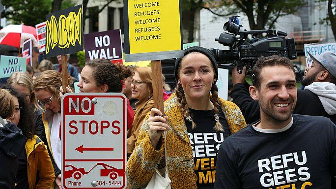 Tribunal mantém bloqueio sobre veto migratório de Trump