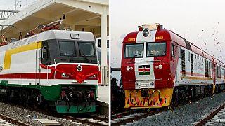 Ethiopia vs Kenya – The Chinese standard gauge rails compared