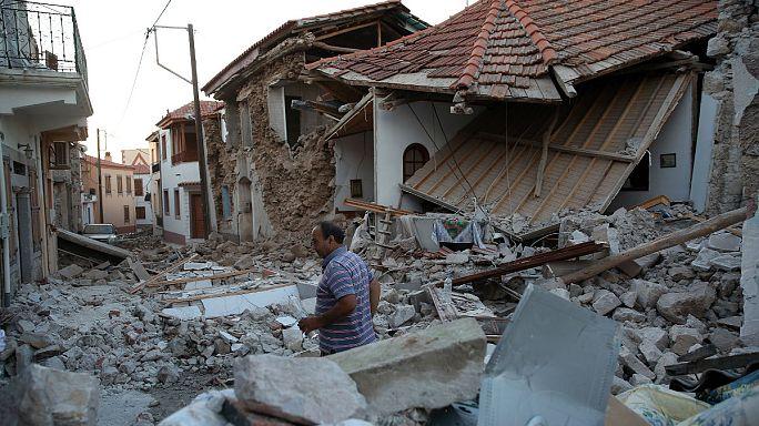 Deprem Midilli adasını vurdu