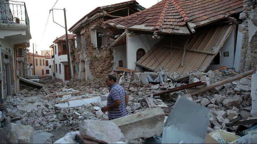 Uma pessoa morta em sismo na ilha grega de Lesbos