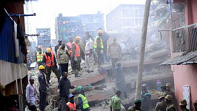7-storey building collapses in Kenyan capital, at least 15 missing