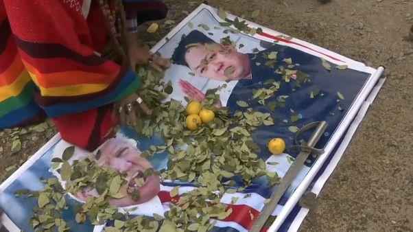 """Los chamanes peruanos """"curan"""" a Maduro y a Kim Jong-un"""