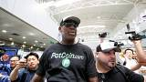 US basketball star Rodman flies to North Korea