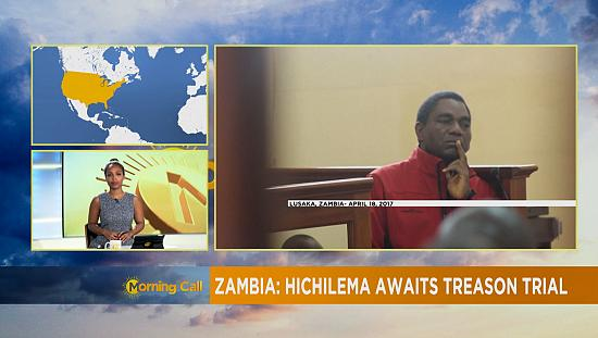 Zambie : Hichilema en attente de son procès pour trahison [The Morning Call]