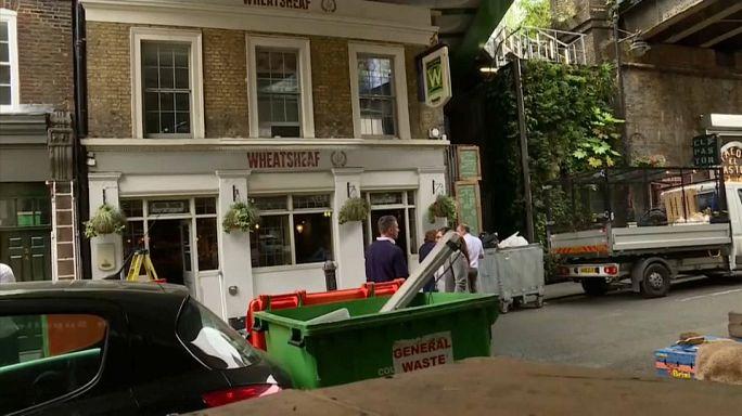 Лондонский рынок открывается после теракта