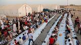 إصابة مئات من نازحي الموصل بالتسمم الغذائي خلال إفطار رمضان