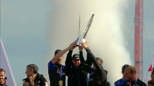 America's Cup: New Zealand take convincing win over Sweden