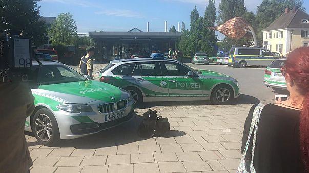 Стрельба в Мюнхене: четверо раненых