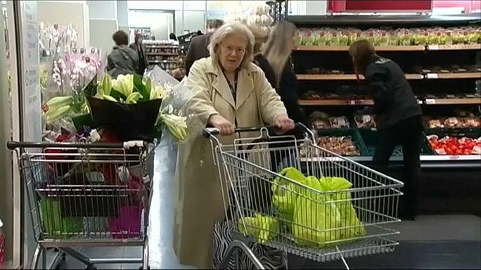 La inflación británica, en su nivel más alto en casi cuatro años