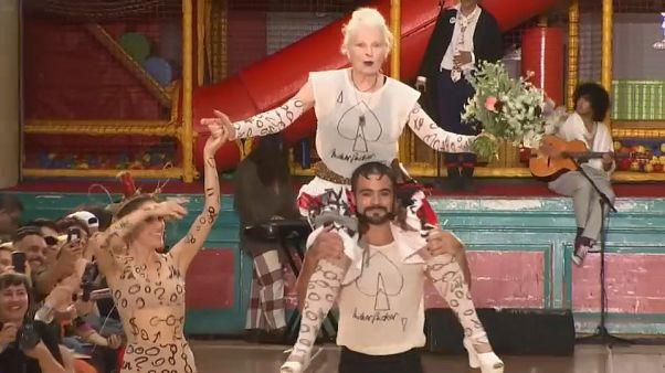 L'inusable Vivienne Westwood prône le durable