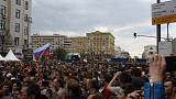 The rally that wasn't - how Russian police stopped Navalny protest