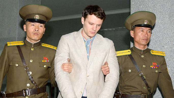 North Korea 'releases US student Otto Warmbier'