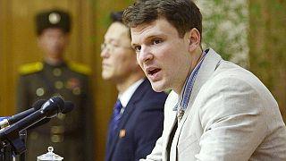Heimflug aus Nordkorea: US-Student (22) im Koma freigelassen