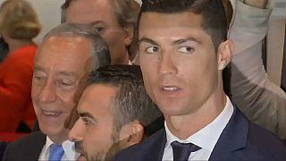 Cristiano Ronaldo a braços com justiça espanhola