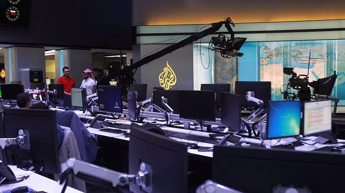 """إسرائيل تتجه لإغلاق مكاتب قناة """"الجزيرة"""" القطرية"""