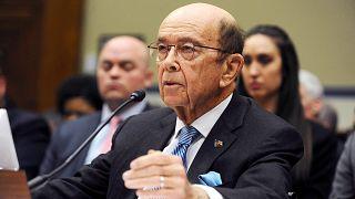 Image: U.S. Commerce Secretary Wilbur Ross testifies at a House Oversight a