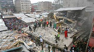 Kenya building collapse: 2 kids and a woman rescued after nearly 24 hours