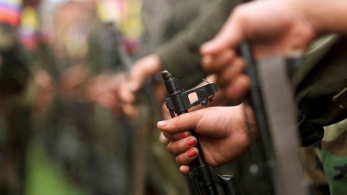 Las FARC entregan el 60 % de sus armas