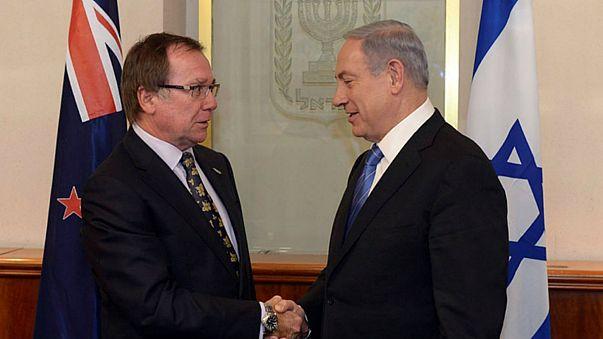 إعادة العلاقات الدبلوماسية بين إسرائيل ونيوزلاندا