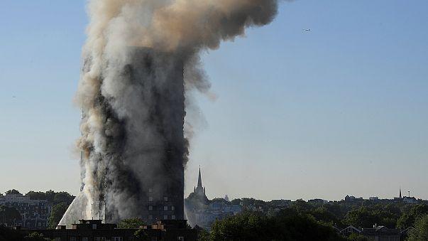 Großbrand in London: Sechs Tote bestätigt, Brand nicht unter Kontrolle