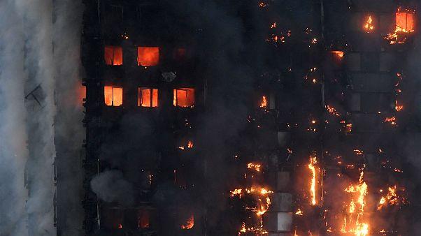 آتش سوزی لندن دستکم دوازده کشته برجای گذاشته است