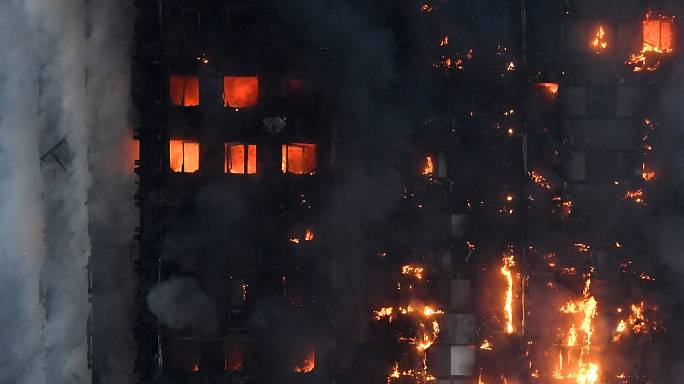 Deaths reported in London tower blaze