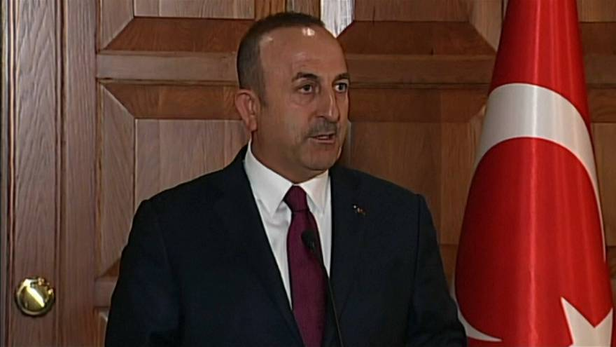 Turkish foreign minister visits Doha in show of diplomatic support