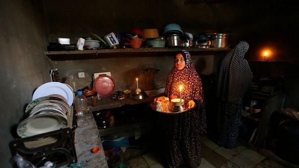 نوار غزه ۲۲ ساعت در شبانه روز برق ندارد