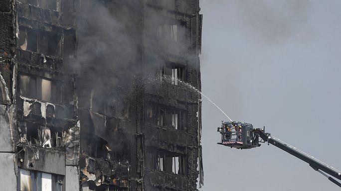 Supervivientes y testigos hablan del incendio en Londres
