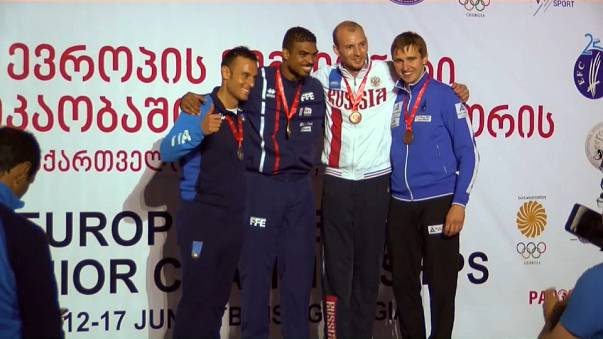 Italy and France retain European fencing titles