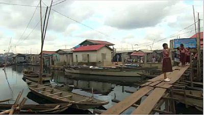 La ville de Lagos au Nigeria est confrontée à une grave crise du logement