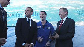 L'espace selon Thomas Pesquet, l'ESA et la NASA au Salon du Bourget