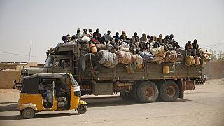 Niger: une centaine de migrants secourus en plein désert