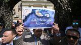 اعتراض به کمیته پارلمانی مصر در واگذاری جزایر به عربستان سعودی