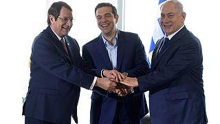 Ολοκληρώθηκε η Τριμερής Σύνοδος Ελλάδας - Κύπρου - Ισραήλ στη Θεσσαλονίκη
