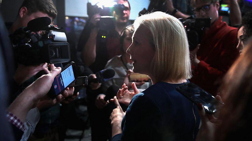 Image: Senator Kirsten Gillibrand Holds Meet & Greets In Iowa