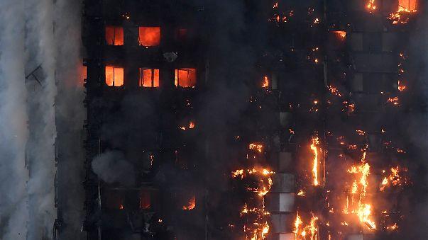حريق لندن: مسلمون استيقظوا للسحور فأنقذوا حياة الكثيرين