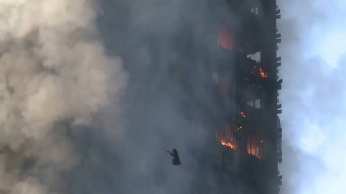 Eyewitness say they were horrifed by London tower block fire