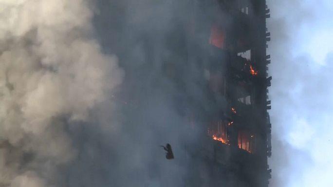 Londra'da yangın faciası