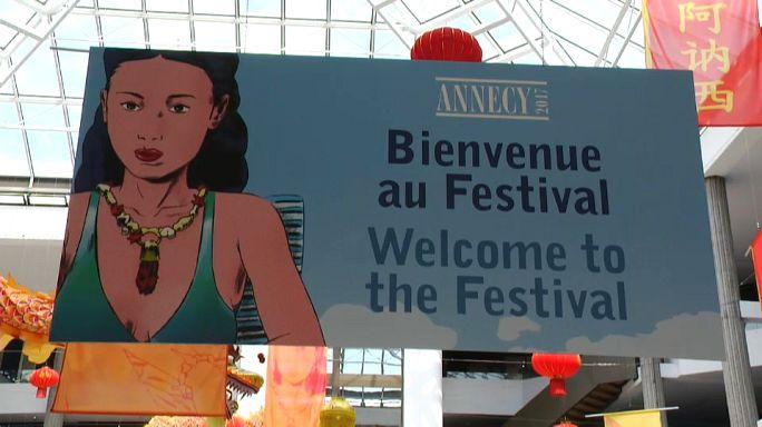 Картинки по запросу Фестиваль мультфильмов в Анси, Франция