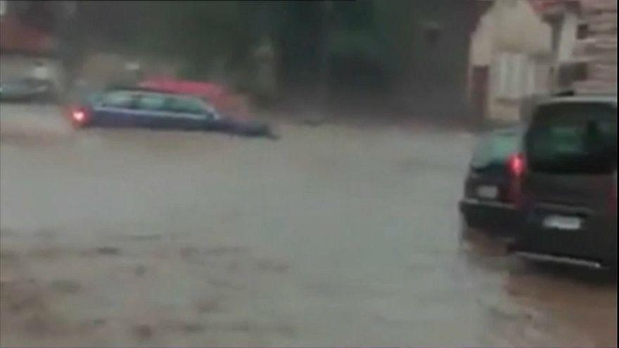 Violents orages en Haute-Loire
