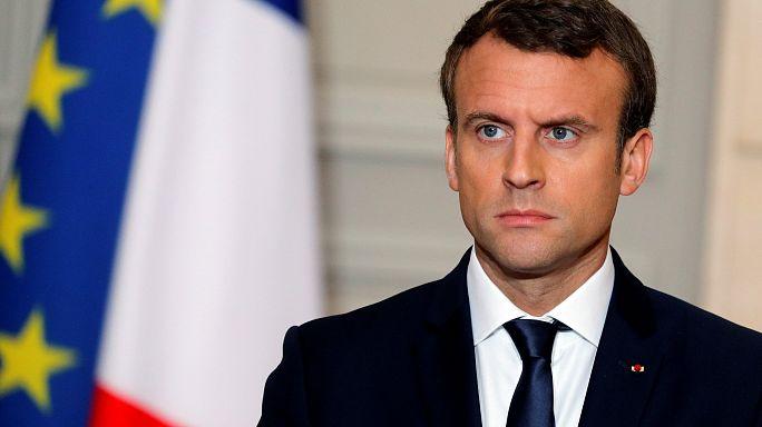 ماكرون يلتقي تباعا في باريس أمير قطر وولي عهد الإمارات نهاية يونيو