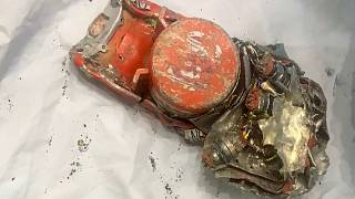 Image: One of two black box recorders recovered from the Ethiopian Airlines