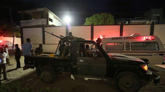Anschlag auf Restaurants in Somalia