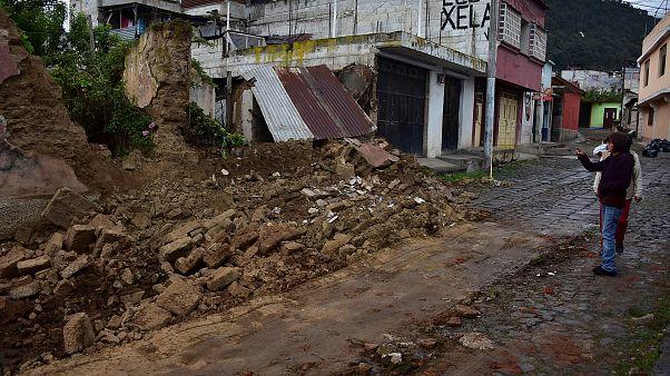 Terremoto in Guatemala, crolli e morti